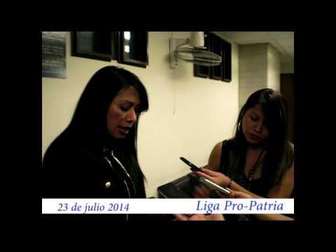"""Video. """"Entrega de querella contra Claudia Paz y Paz"""" (23 jul 2014)"""