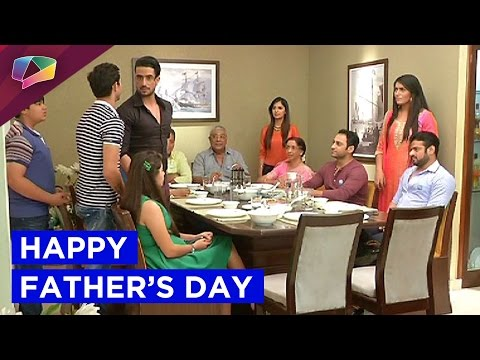See how Ruhi wishes Raman a happy father's day i