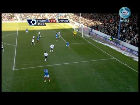 Nadir BelHadj contra el Liverpool