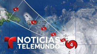 El huracán María cobra fuerza y se acerca a Puerto Rico | Noticias Telemundo