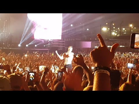 Imagine Dragons - It's Time @ Live Lollapalooza 2018 Sao Paulo 24/03/2018 (видео)