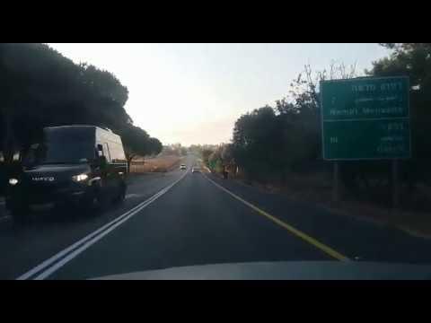 סכנה מוחשית בכביש 672