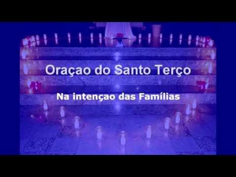 Santo Terço intenção das Famílias dia 15 de Agosto 2016
