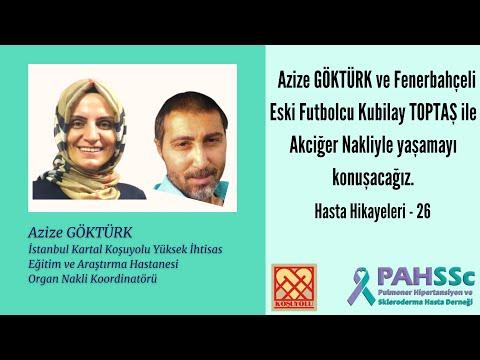 Hasta Hikayeleri - Org. Nakli Koor. Azize Göktürk ve Kadir Toptaş - Akciğer Nakli ile Yaşamak - 26 - 2021.02.16