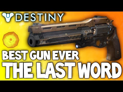 Favorite - Possibly the best gun I've used in ages! LIKE & Subscribe for Daily Destiny Videos If you have this, What you think of it? Hey guys here today with another weapon review! And its the Last...