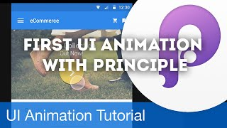 First UI Animation with Principle • UI/UX Animations with Principle & Sketch (Tutorial) Video