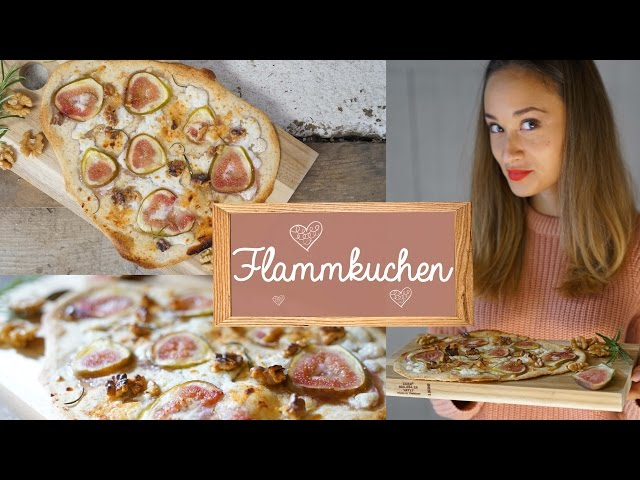 flammkuchen selber machen gesunde pizza alternative vegetarisches rezept. Black Bedroom Furniture Sets. Home Design Ideas