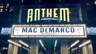 Mac DeMarco - The Anthem - Sept. 5, 2018