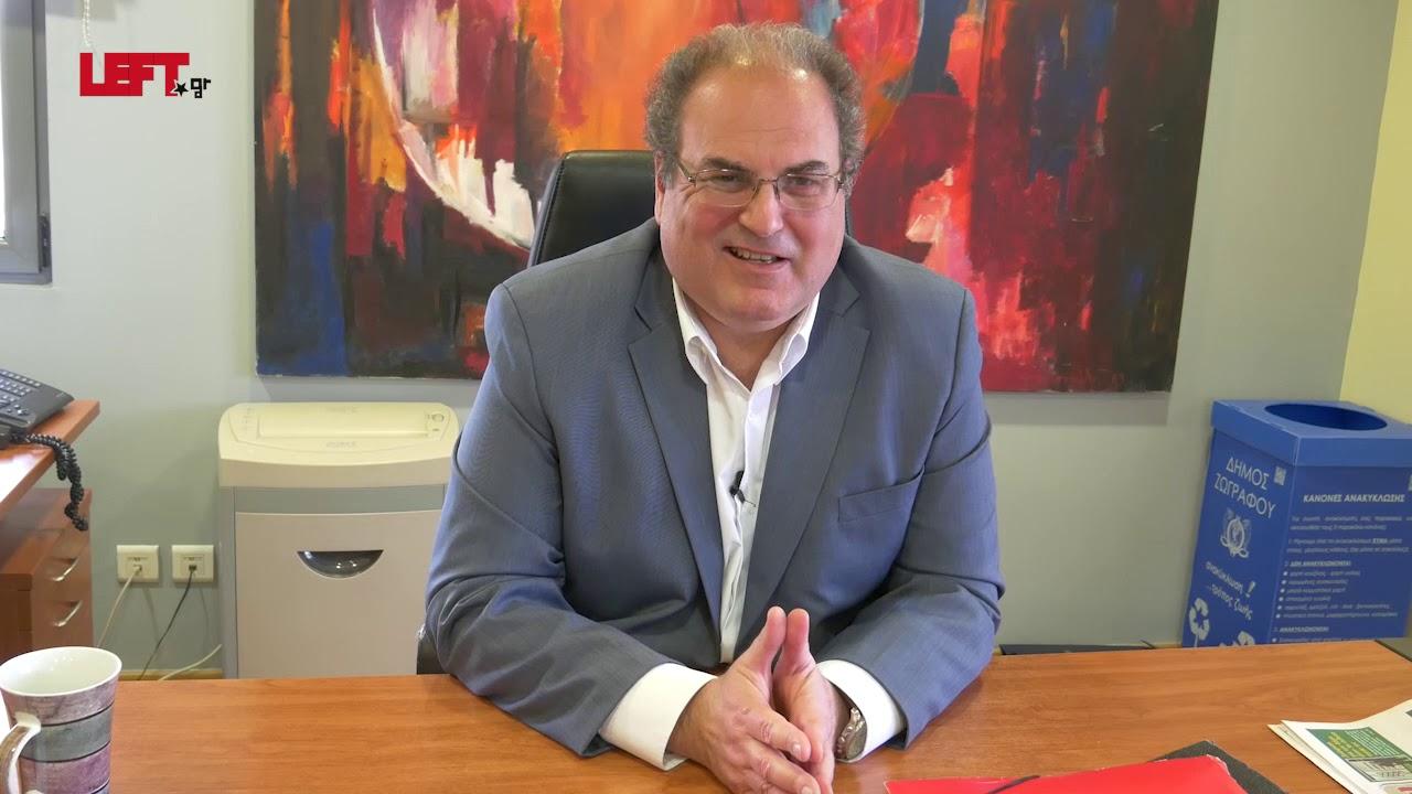 Σίμος Ρούσσος, δήμαρχος Χαλανδρίου