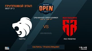 North vs Red Reserve - DreamHack Open Summer - map3 - de_mirage [Donald, Godmint]