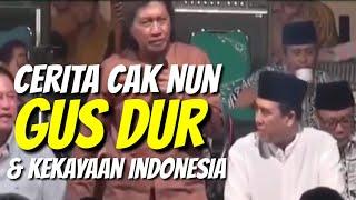 Video Cerita Cak Nun tentang Harta Karun Indonesia Masa Kerajaan Untuk Nanti dan Gusdur Lucu Masa Dekrit MP3, 3GP, MP4, WEBM, AVI, FLV April 2019