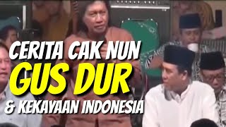 Video Cerita Cak Nun tentang Harta Karun Indonesia Masa Kerajaan • Guyonan Cak Nun & Gusdur Lucu dan Segar MP3, 3GP, MP4, WEBM, AVI, FLV Agustus 2019