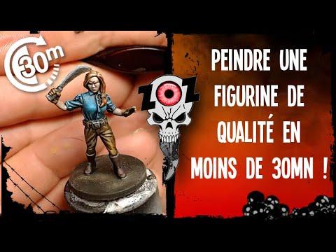 Tutoriel peinture figurine : un résultat de qualité en moins de 30mn !