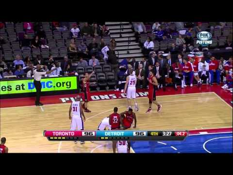 Andre Drummond's NBA Preseason Debut: 12 points, 7 rebounds, 2 blocks, 2 steals (HD)