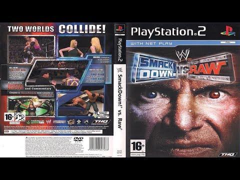 WWE SmackDown!® vs. Raw® - Season Mode - U.S. Title Defense Storyline (WrestleMania PPV) - Part #2