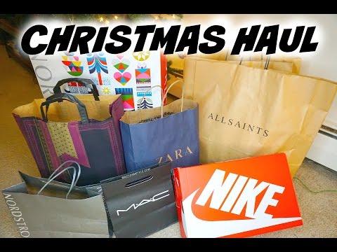 圣诞购物分享||CHRISTMAS HAUL||ARIEL LIU видео