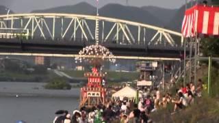日本ライン夏まつり(2)犬山城下町・木曽川畔