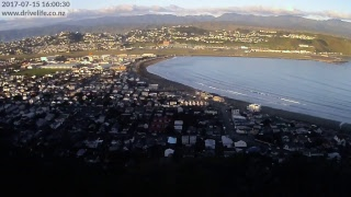 Lyall Bay from Melrose. Wellington, New Zealand - (Jan 2017 Southerly Front Rolling In) https://youtu.be/eqYZChGQlTI - (Nov...
