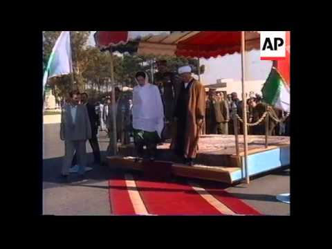 Video IRAN: PAKISTANI PRIME MINISTER BENAZIR BHUTTO VISIT download in MP3, 3GP, MP4, WEBM, AVI, FLV January 2017
