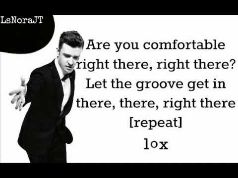 Justin Timberlake – Let The Groove Get In ( Lyrics On Screen ) 2013 ( The 20 / 20 Experience )