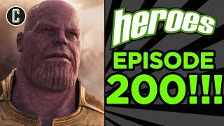 Video Avengers Infinity War Trailer: Did They Reveal Too Much? - Heroes: Giant Sized 200th Episode MP3, 3GP, MP4, WEBM, AVI, FLV Januari 2018