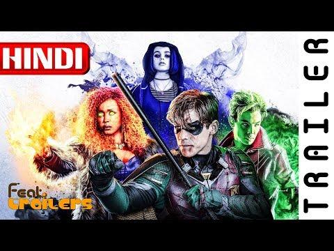 Titans (2018) Season 1 Netflix Official Hindi Trailer #1 | FeatTrailers