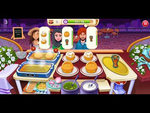 Restaurant 1: Pani Puri | Restaurant Cooking Games | Indian Cooking Star Game