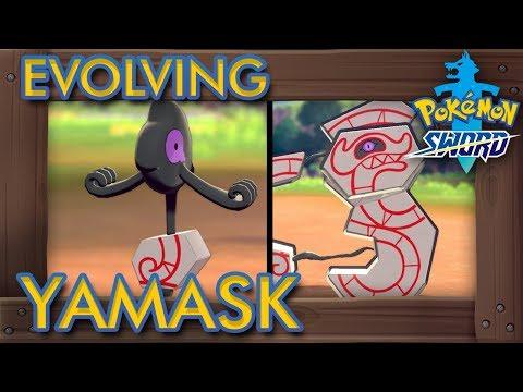 Pokémon Sword & Shield - How to Evolve Yamask into Runerigus