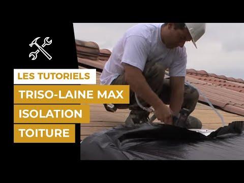 Comment isoler ma toiture avec TRISO-LAINE max sur volige?