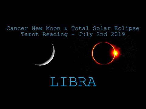 Libra - Destiny Is Good To You! - New Moon & Solar Eclipse Reading July 2019