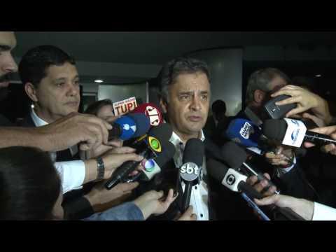Aécio Neves – Aprovada em primeiro turno PEC da reforma política