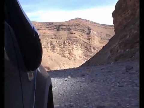 Salida desfiladero de Asarrak. Sahara Raids 4×4