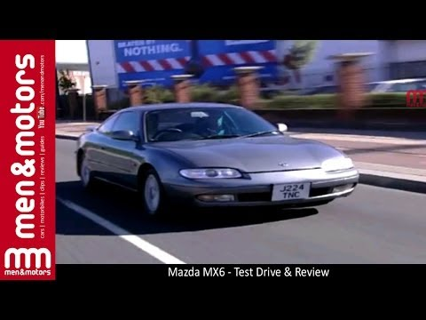 Mazda MX6 - Test Drive & Review