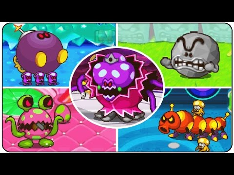 Mario and Luigi Partner's in Time - All Bosses