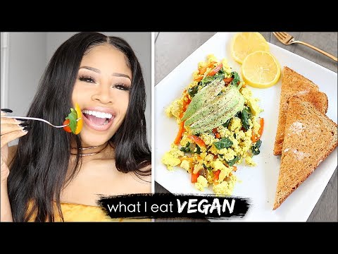 HELLA BOMB VEGAN FOOD!  ➟  What I Eat In A Day