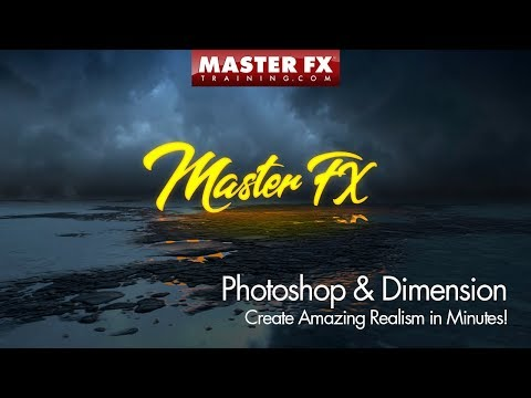 Create a Realistic Scene with Photoshop & Dimension