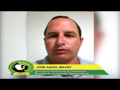 Federación Mundial de Juventudes Democráticas se solidariza con el pueblo venezolano
