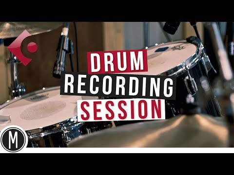 DRUM RECORDING SESSION in Cubase 9.5 - mixdown.online