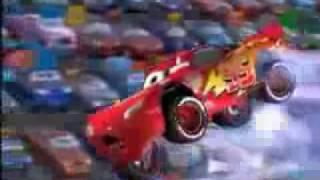 Arabalar  çizgi filmi şimşek ilk yarış