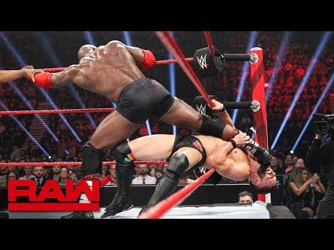 Finn Bálor vs. Bobby Lashley: Raw, Nov. 5, 2018