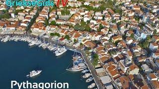 Dronevideo / Luchtvideo Pythagorion Samos - GriekseGids.TV