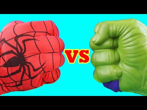 Hulk Family Vs Spider-man Family ! Mega Battle ! Superhero Toys