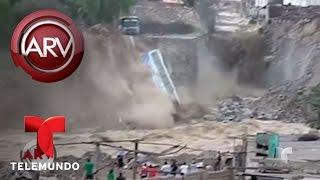 Emergencia por inundaciones en Perú