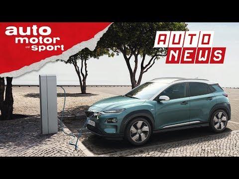 Hyundai Kona Elektro - Kompaktes SUV mit Strom - NEWS | ...
