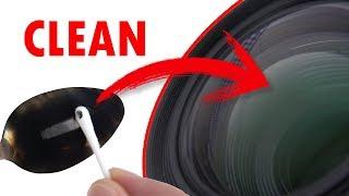 Как почистить линзу камеры просто и бесплатно!