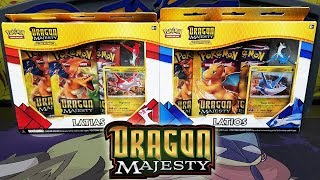 DRAGON MAJESTY! Opening BOTH Latios and Latias Dragon Majesty Pin Collection Boxes! by The Pokémon Evolutionaries