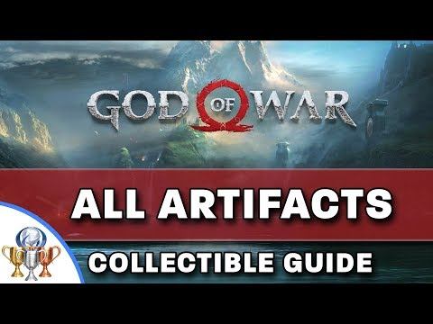 God of War - All 45 Artifacts Collectibles Locations - Curator Trophy Guide