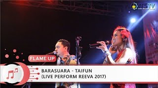 Barasuara - Taifun (Live Perform REEVA 2017)
