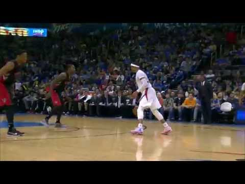 Video: Russell Westbrook Records 7th Triple-Double of the Season
