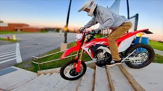 9. CRF450L Urban Exploring